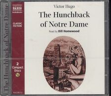 Victor Hugo The Hunchback of Notre Dame audio book CD NEW 2-disc