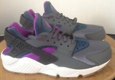 Nike Air Huarache Purple Gray Low-Top Girls Sneakers Size 5.5 Y  NEW! 634835 016