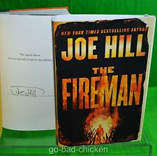 Signed THE FIREMAN Joe Hill 2016 First Edition 1st Print HC son of Stephen King