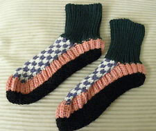 Brand New Blended Thermal Slippers Socks Booties For Indoor Home Warmth #71