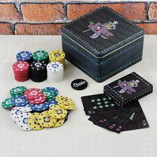 DC Comics BATMAN The JOKER POKER SET Casino Style 120 Chips Set