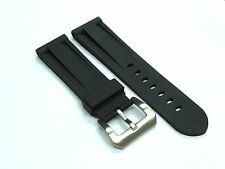 24MM RUBBER BAND STRAP FOR 44MM PANERAI 312 PRE-V-B BLACK#1
