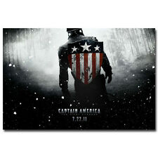Captain America The First Avenger Movie Art Silk Poster 24x36 inch 001