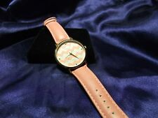 Woman's Concepts Watch with Peach Band and Zig Zag Face  **Nice** B16-246