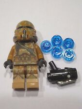 New Lego Geonosis Clone Trooper (SW Airborne Helmet) Trooper Star Wars 75089