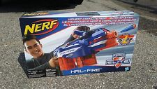 NEW NERF HAIL-FIRE DART GUN N-Strike Elite MOTORIZED BLASTER TOY htf nib