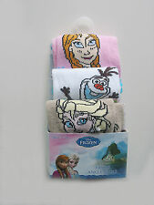 DISNEY FROZEN PACK OF 3 ANKLE SOCKS UK SIZE 12.5-3.5 ONLY £5.49