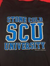 STONE COLD STEVE AUSTIN VINTAGE SCU UNIVERSITY CLASS OF 316 T-SHIRT 1998 WWF WWE