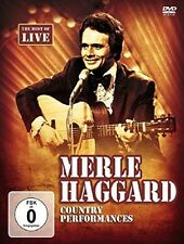 MERLE HAGGARD - COUNTRY PERFORMANCES  DVD NEU