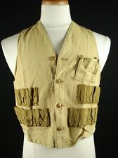 Vintage J.C.HIGGINS Sears Roebuck and Co. Cotton Hunting Fishing Vest Fits as S