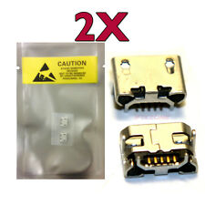 2 X New Micro USB Charging Sync Port For ASUS MeMo Pad 7 Inch Tablet K01A USA