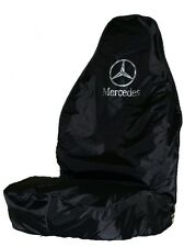 MERCEDES SPRINTER HEAVY DUTY SEAT COVER - BLACK WATERPROOF