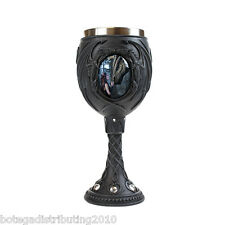Once Upon A Time Dragon Forest Goblet Stainless Steal Cup Pet Celtic Gem