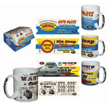 MOPAR LIMITED EDITION MUG SET 4 PIECE COLLECTABLE MUG SET!! Cuda