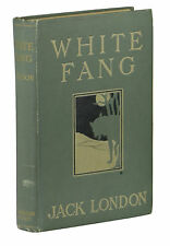 White Fang ~ JACK LONDON ~ First Edition ~ 1st Printing ~ 1906