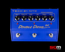 TECH 21 DOUBLE DRIVE 3X PROGRAMMABLE OVERDRIVE PEDAL BRAND NEW FREE SHIPPING!