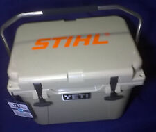New  YETI roadie 20 cooler Tan Limited Edition STIHL YR20T Display Model