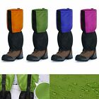 45CM Waterproof Outdoor Snow Rain Climbing Hiking Ski Gaiters Legging Leg Cover