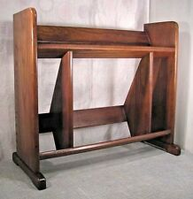 "Mid Century Modern Danish Short Bookcase Book shelf 22x25x8"""