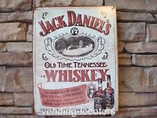 Jack Daniels Whiskey Metal 16 x 12 Tin Vintage Style Old No. 7 Tennessee Liquor