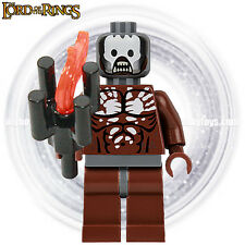 LEGO The Lord Of The Rings Minifigures - Uruk-hai Berserker ( 9474 ) Minifigure