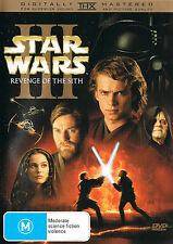 STAR WARS: Episode III [3] - Revenge Of The Sith DVD 2-DISCS TOP 1000 MOVIES R4