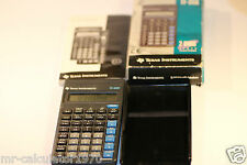 TEXAS INSTRUMENTS TI-35X 2 VARS Stats Fractions CALCULATOR Boxed + Instructions