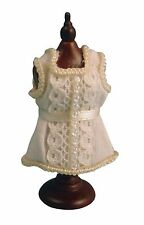 DOLLS HOUSE 1/12 SCALE DRESSMAKERS DUMMY WITH DRESS