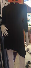 Black Zenana Outfitters  Choker Long Sleeve Club/Casual Short  Dress Size  8-10