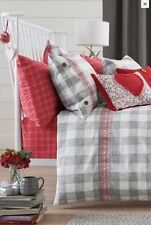 NEXT Bedding – 100% cotton Gingham Embroidered Bed Set, King size