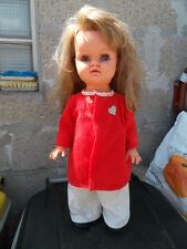 Vintage poupée 53 cm doll toys  BELLA 60's marcheuse fonctionne