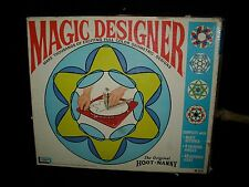 VINTAGE 1967 MAGIC DESIGNER SPIROGRAPH HOOT NANNY KIT STENCIL DRAWING PICTURES