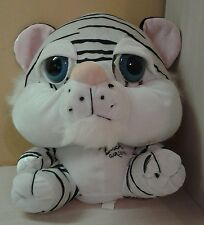 "Busch Gardens White Begal Tiger Plush Big Eyes 12"" toy boys girls"