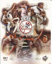 1998 New York Yankees - World Series Champions Ltd. Ed  8 x 10 Photo