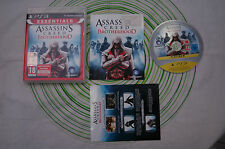 Assassin's creed brotherhood essentials ps3 pal