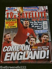 TV & SATELLITE WEEK - WORLD CUP GUIDE - JUNE 10 2006