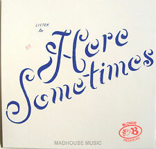 """BLONDE REDHEAD 12"""" Here Sometimes Limited 4AD VINYL + PROMO"""