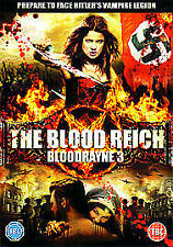 THE BLOOD REICH BLOODRAYNE 3*DVD*MICHAEL PARE*ACTION*HORROR*