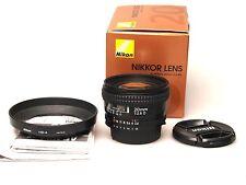Nikon AF Nikkor 20mm F2.8 D + HB-4 BOXED