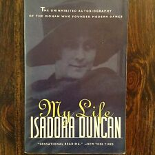 VINTAGE BOOK- My Life by Isadora Duncan (1955, Paperback) store#4933B