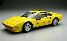 FERRARI 308 GTB QUATTROVALVE YELLOW by KYOSHO VERY RARE 1st Edition NEW IN BOX