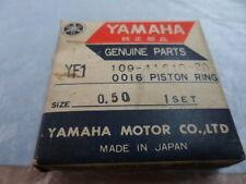 NOS Yamaha 0.50 Piston Ring Set YF1 109-11610-20