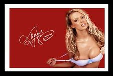 JENNA JAMESON AUTOGRAPHED SIGNED & FRAMED PP POSTER PHOTO