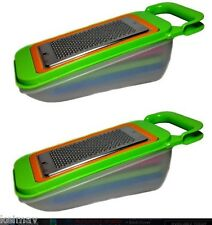 4pc Grater with Case (Green) Set of 2