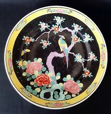 Antique Hand Decorated Chinese Plate ( Guangxu ?) – Signed – 8 Inches