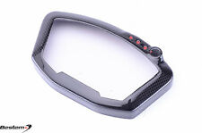 Ducati 1098 848 1198 Carbon Fiber Gauge Instrument Guard Dash Cover