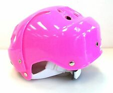 New DR ice skating helmet junior youth jr skate boarding toboggan pink girls