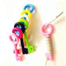 5PCS Key Cord Cable Organizer Winder Earphone Headphone Wrap Winder Wire Holder