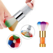 New Fashion Women Colorful Nail Brush For Acrylic & UV Gel Nail Art Dust Cleaner