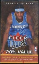 2003-04 Fleer Ultra NBA Basketball Blaster Box (6 Packs of 8 Cards)